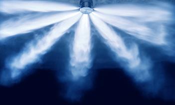 Carbon dioxide gas extinguishing system