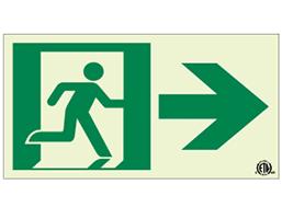 Running Man Sign