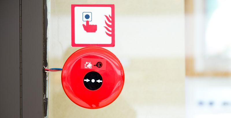 Audible Fire Alarm