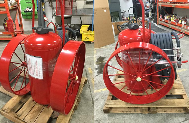 Ansul 300 lb Wheeled Fire Extinguisher Toronto
