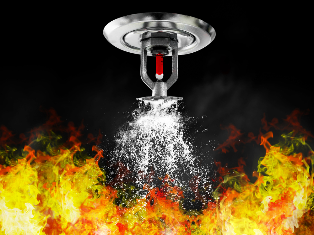 Sprinkler Systems to combat fire